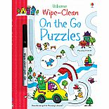 Wipe-Clean On the Go Puzzles