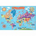 Kid's World Wall Map