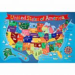 Kid's United States Wall Map
