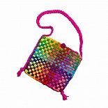 Potholder Purse Kit Rainbow