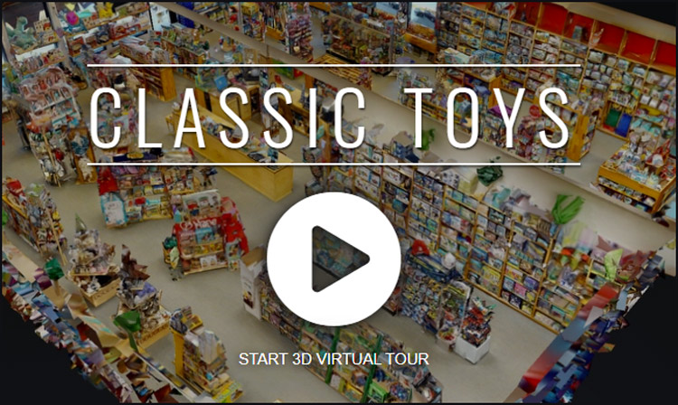 Classic Toys Toy Dango virtual store tour